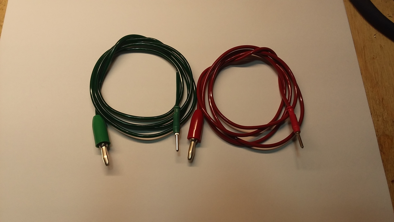 2mm pin type wires, 39 inches long