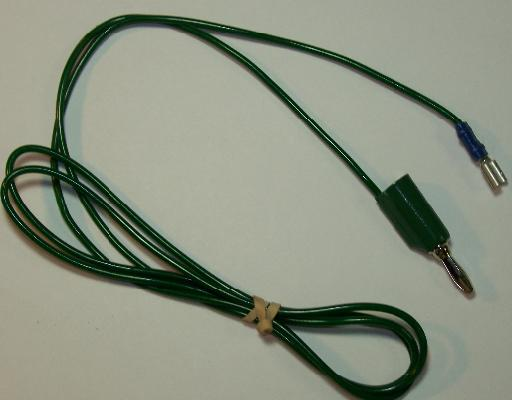 Green wire for copper pads