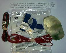 Set of 4 3-M straps and pads