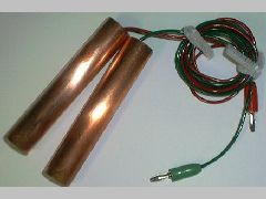 Special pair of Copper Paddles with 72 inch length